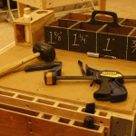 The scene shop contains everything needed to make full sets for theater productions.